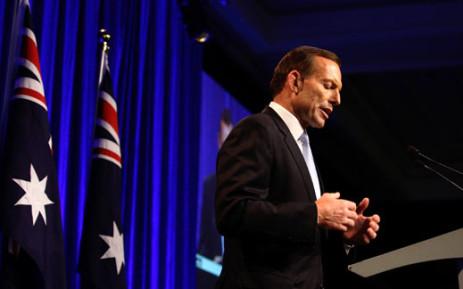 Australian Prime Minister, Tony Abbott. Picture: AFP/POOL/Lisa Maree Williams