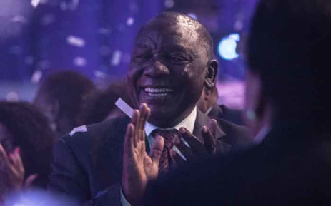 President Cyril Ramaphosa after the announcement of 2019 elections results. Picture: Abigail Javier/EWN.
