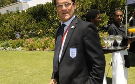 England coach Fabio Capello. Picture: AFP.