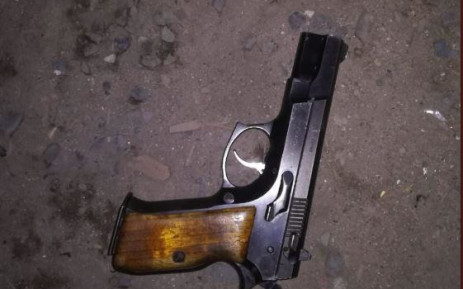 Police arrested one man who was involved in a shootout with officers after they approached him and another suspect in Nyanga on Saturday, 21 September 2019. Picture: Saps/Twitter