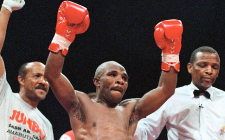 Three times boxing world champion Baby Jake Matlala.  Picture: AFP