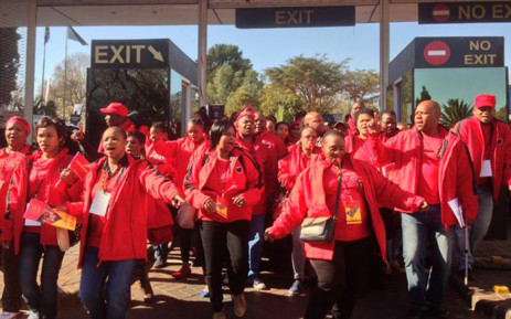 FILE: The march is also in opposition to the Gauteng e-tolling system, which Cosatu wants to be scrapped. Picture: Govan Whittles/EWN.