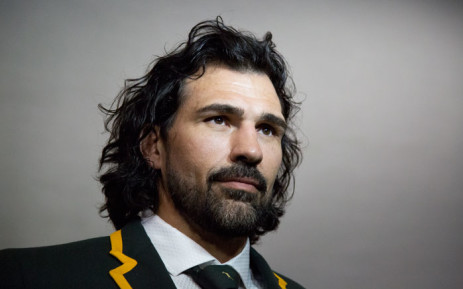 "FILE: ""Springbok lock, Victor Matfield. Picture: Anthony Molyneaux/EWN."