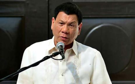 Philippines President Rodrigo Duterte. Picture: Facebook