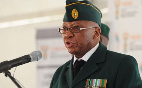 Kebby Maphatsoe, uMkhonto weSizwe Military Veterans' Association chairperson. Picture: GCIS.