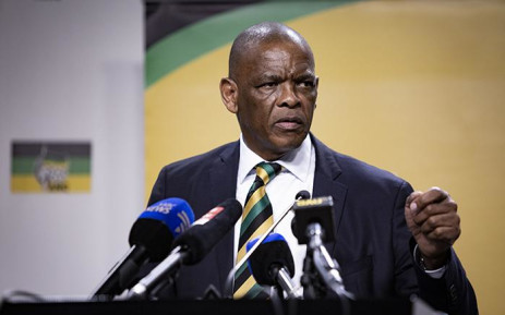 FILE: ANC secretary-general Ace Magashule is seen during the ANC press conference on 1 August 2018 on the outcomes of the ANC NEC Lekgotla that was held on 30 to 31 July 2018 in Tshwane. Picture: Sethembiso Zulu/EWN