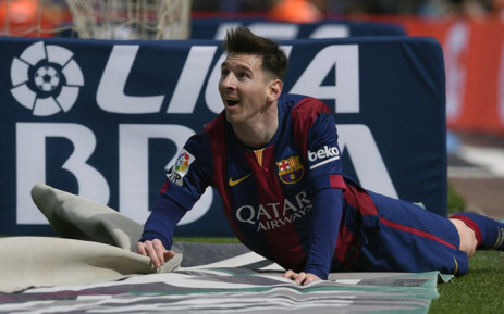 Barcelona's Argentinian forward Lionel Messi. Picture: AFP.