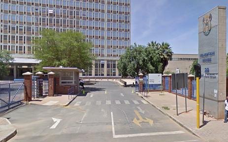 Prasa's head office next to Park Station at Umjantshi House on Wolmarans Street, Braamfontein. Picture: Google Earth