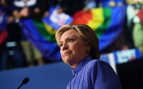 US presidential candidate Hillary Clinton. Picture: AFP