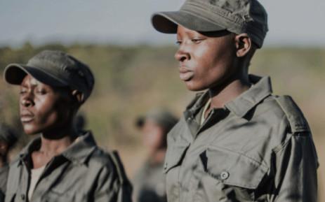 A screengrab shows members of the  Akashinga anti-poaching team. Picture: International Anti Poaching Foundation (www.iapf.org).