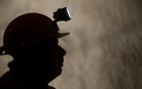 A miner. Picture: AFP
