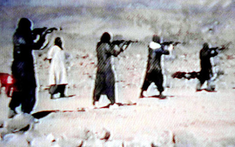 File picture of Jihad training camps. Picture: AFP