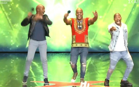 Luvuyo Situmane, Simangaliso Thango and Sandile Sikhosana wowed judges during their audition at 'Greece Got Talent'. Picture: screengrab via Facebook.com