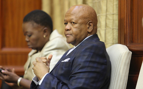 Minister in the Presidency Jeff Radebe. Picture: Reinart Toerien/EWN