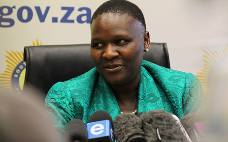 FILE: Former National Police Commissioner Riah Phiyega. Picture: EWN.