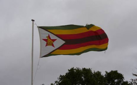 FILE: The Zimbabwean flag. Picture: WikiCommons.