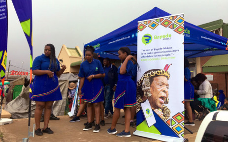 The launch of Bayede Mobile, the Zulu royal family's mobile network service, on 1 November 2019. Picture: Nkosikhona Duma/EWN