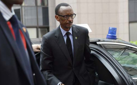FILE: Rwanda's President Paul Kagame. Picture: AFP.