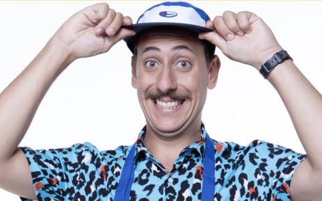 SA comedian Schalk Bezuidenhout. Picture: @schalkiebez/twitter.