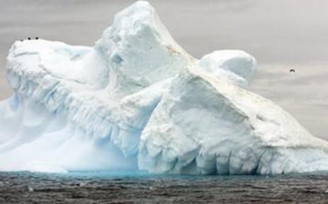 FILE: A view of Collins Glacier in Antarctica. Picture: Supplied.