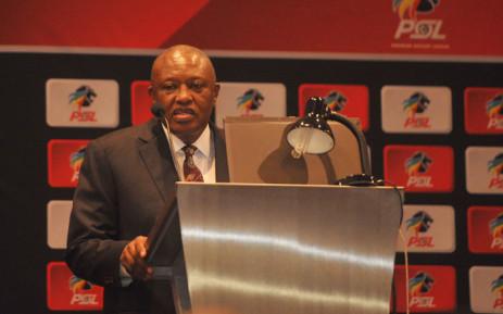 Premier Soccer League chairperson Dr Irvin Khoza. Picture: @OfficialPSL/Twitter