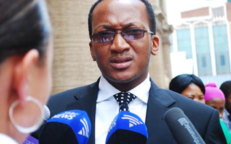 National Prosecuting Authority spokesperson Mthunzi Mhaga. Picture: Eyewitness News