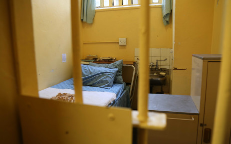The cell where Oscar Pistorius spent almost a year in jail.  Picture: Christa Eybers/EWN