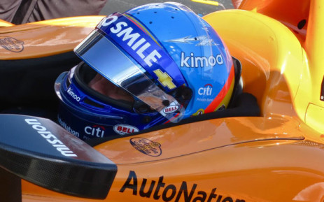 Fernando Alonso in his McLaren Racing Chevrolet during a practice session at the 2019 Indy 500 on 15 May 2019. Picture: @McLarenIndy/Twitter
