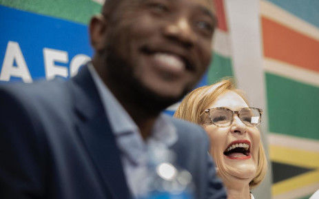 Mmusi Maimane seen on 20 October 2019 after Helen Zille was announced as the Democratic Alliance's new Federal Council chair. Picture: Sethembiso Zulu/EWN