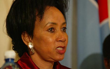 Minister of Defence and Military Veterans Lindiwe Sisulu. Picture: Taurai Maduna/Eyewitness News