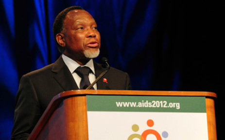 Deputy President Kgalema Motlanthe speaks at the XIX International Aids Conference held in Washington DC. Picture: GCIS.