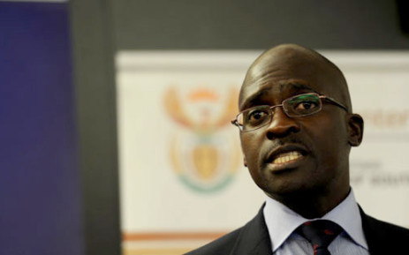 Home Affairs Minister Malusi Gigaba. Picture: Sapa.
