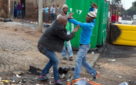 FILE: Four men have been arrested after stabbing Mozambican national Emmanuel Sithole in Alexandra on 18 April 2015. Picture: James Oatway/Sunday Times.