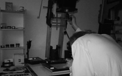 darkroom at Orms