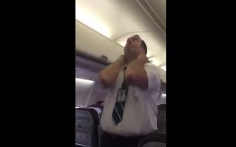 WestJet Michael McAdams safety demo gave passengers a good laugh.