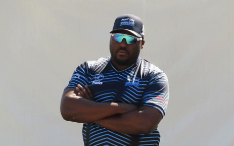 New Titans coach Mandla Mashimbyi for the rest of the 2019/2020 season. Picture: @Titans_Cricket/Twitter.