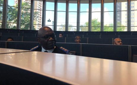 Johannesburg Metro Police chief David Tembe. Picture: Mia Lindeque/EWN