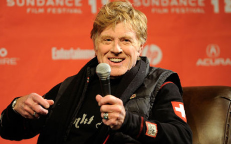 Sundance Institute President and Founder Robert Redford speaks during the 2012 Sundance Film Festival. Picture: AFP