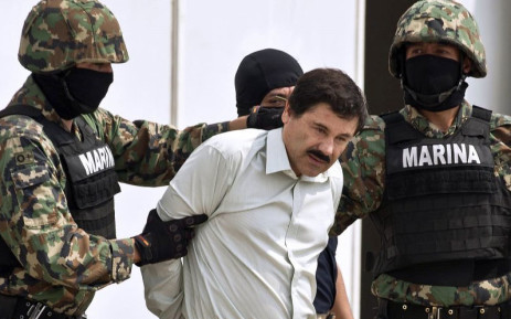 FILE: Mexican drug kingpin Joaquin 'El Chapo' Guzman. Picture: AFP.