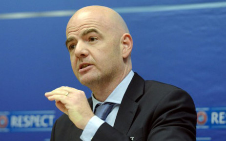 Fifa president Gianni Infantino. Picture: AFP.
