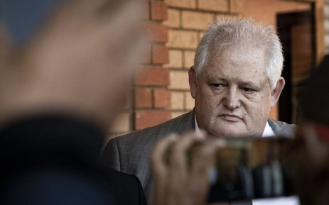 Angelo Agrizzi appears in the Randburg Magistrate Court on 27 June 2019 . Picture: Sethembiso Zulu/EWN