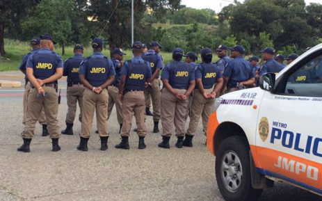 FILE: Johannesburg Metro Police Department officers. Picture: @JMPDSafety/Twitter