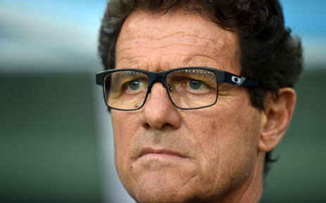 Italian coach Fabio Capello. Picture: AFP.
