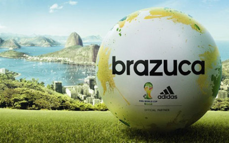 The Adidas Brazuca is the official match ball for the 2014 Fifa World Cup in Brazil. Picture: Fifa