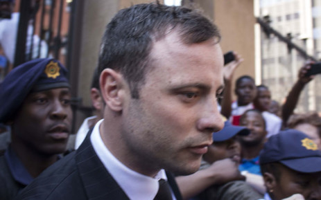 FILE: Oscar Pistorius leaves the High Court in Pretoria after the reading of judgment in his murder trial on 12 September 2014. Picture: Christa Eybers/EWN.
