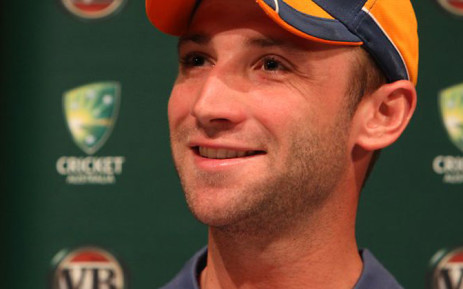 Philip Hughes. Picture: Official Australian Cricket Facebook page.