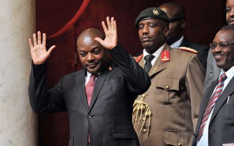 FILE: Pierre Nkurunziza. Picture: Supplied.