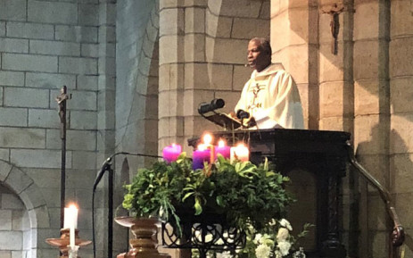 Anglican Archbishop Thabo Makgoba give the Christmas Eve service at St George's Cathedral in Cape Town on 24 December 2018. Picture: @AnglicanMediaSA/Twitter
