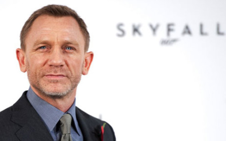 In this file picture taken on November 3, 2011 British actor Daniel Craig poses for photographers at a photocall to announce the start of production of the 23rd film in the James Bond series; 'Skyfall', in central London . Picture: AFP