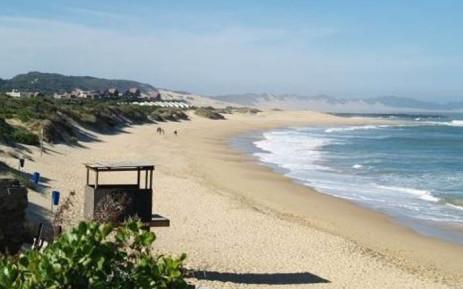 The Port Alfred beach. Picture: Tracks4Africa.co.za